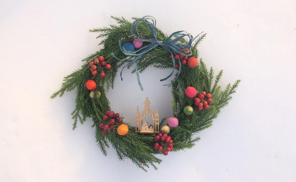 kogumaza wreath 手作り リース手作り